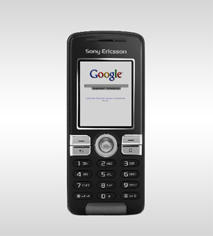 SE k510i w. google