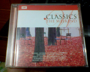 Classics for The Weekend - cover