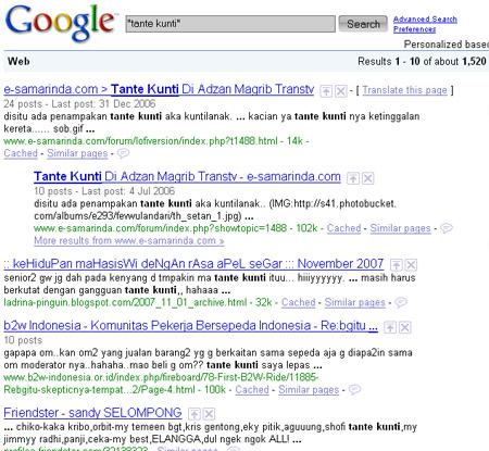 google query 2