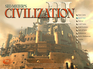civ 3 - title screen
