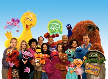 Sesame Street cast crew